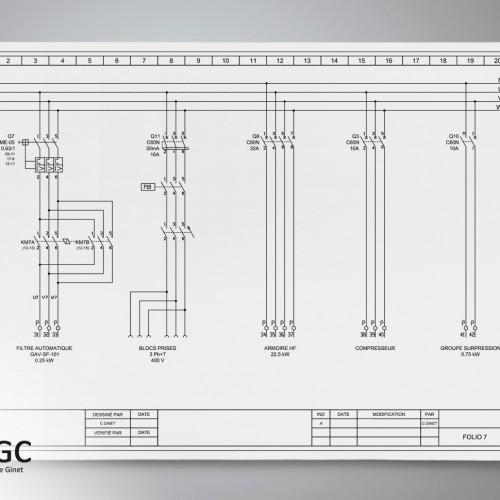 Réalisation de schémas électriques