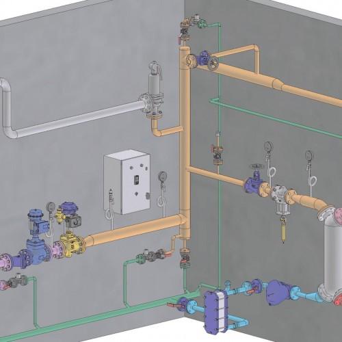 Installation vapeur